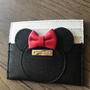 kate spade new york x minnie mouse card case